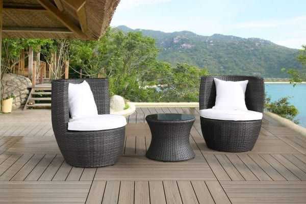 Cresta Wicker Bistro Set