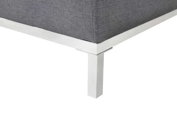 OLLON Right Facing Fabric Sectional Sofa