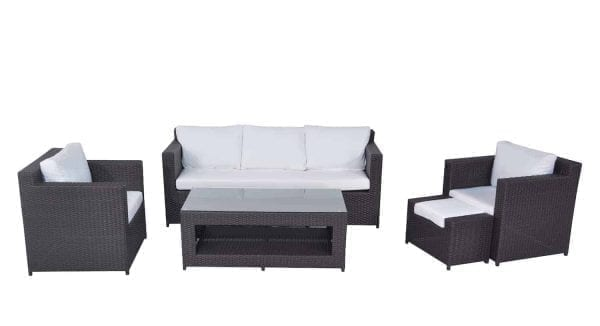 Ascona Patio Wicker Conversation Set