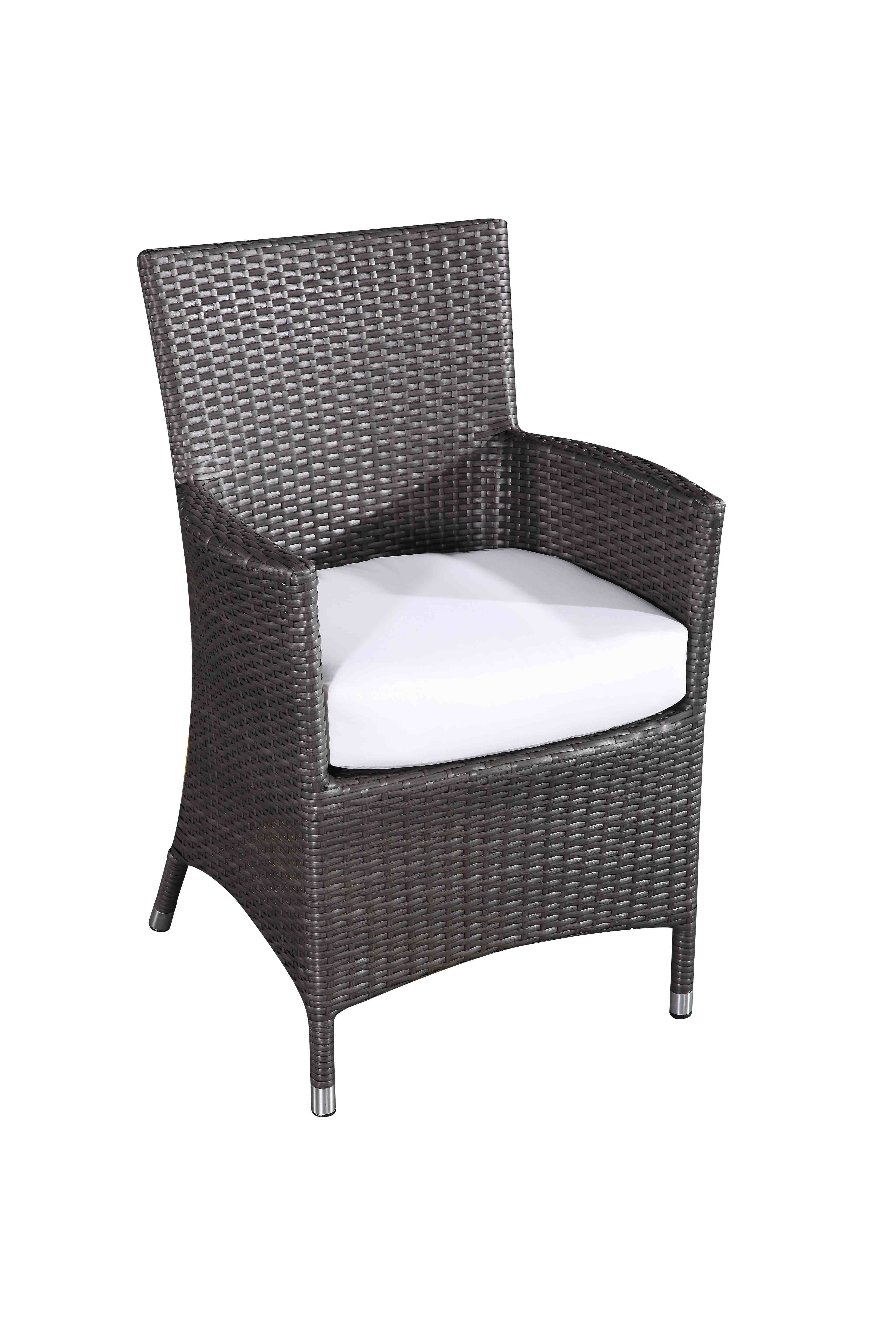 4 Chair Patio Set: Outdoor Wicker Patio Dining Set For 8