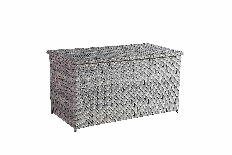 Outdoor Wicker Cushion Storage Box