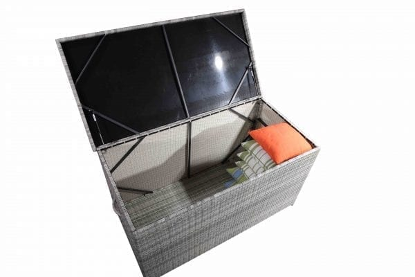 Wicker Cushion Storage Box