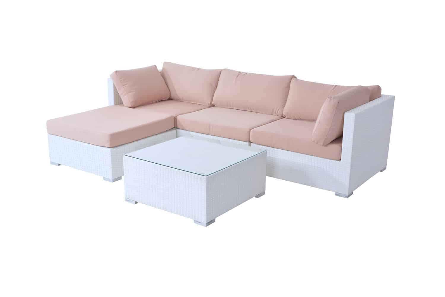 Wicker Sectional Set