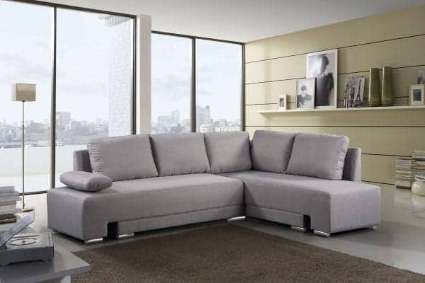 Sectional Convertible Sleeper Sofa