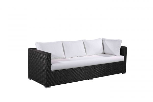 Generoso Charcoal Wicker Patio Lounge Set