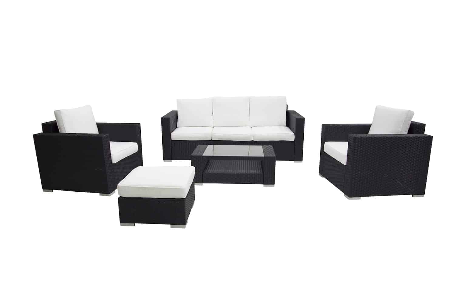 Carona 4-Piece Wicker Conversation Set