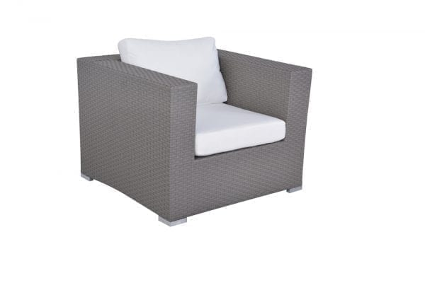Maxima Grey Wicker Conversation Set