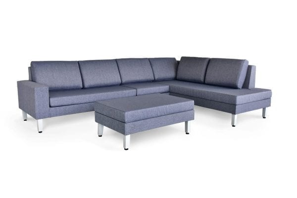 Paglia Sectional Mesh Patio Set