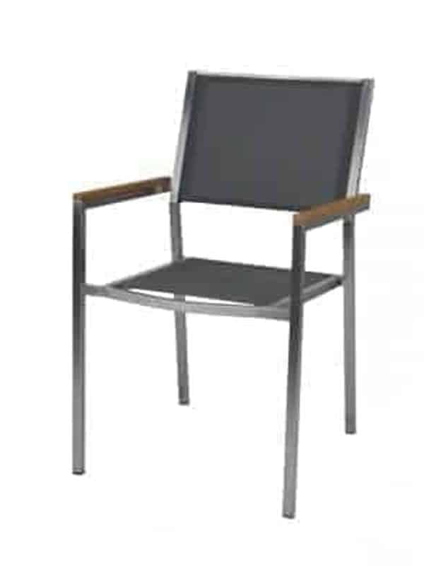 Stainless Steel Mesh Dining Chair