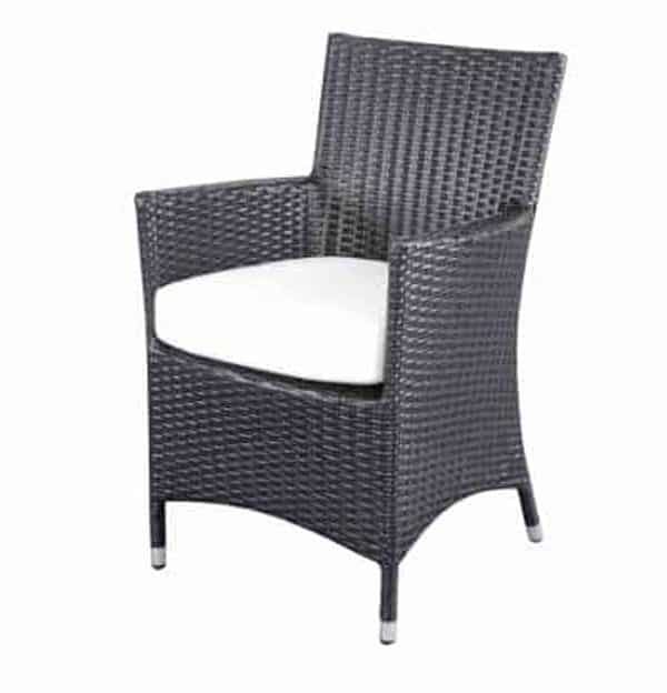 Wicker Dining Chair Chiasso
