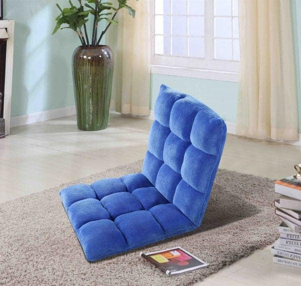 Adjustable Plush Floor Chair