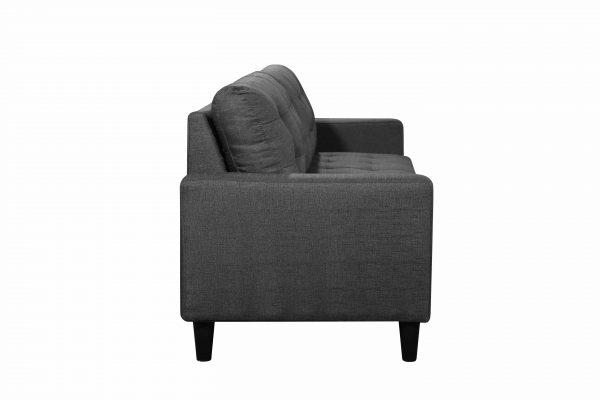 Geneva Polyester 3-Seater Sofa Modern