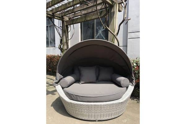 Patio Daybeds Light Grey