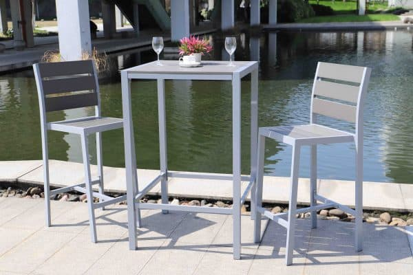 outdoor bar set dining for 2